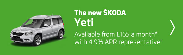 The new ŠKODA Yeti offer