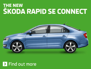 The new ŠKODA Rapid SE Connect
