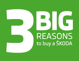 3 BIG Reasons to buy a ŠKODA