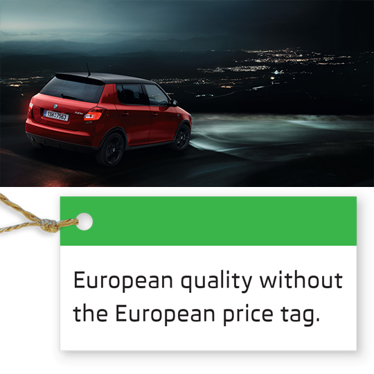 European quality without the European price tag